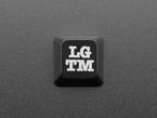 Top view of LGTM keycap.