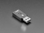 Angled shot of Bluetooth USB key.