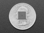 Single FT232BL Chip atop a US quarter for scale.