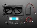 LED Glasses Accessories Kit - LED Glasses Not Included