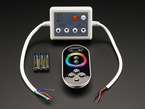 Capacitive Touch Wheel remote Control and controller box for Analog RGB LED Strips