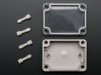 Enclosure kit with top, body and screws