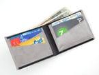 Wallet stuffed with cards and cash