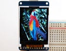 "1.8"" 18-bit color TFT LCD display with microSD card breakout"