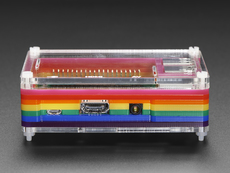 Rainbow Pibow - Enclosure for Raspberry Pi Model B+
