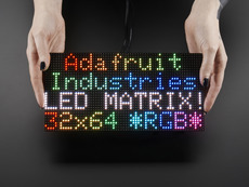 4mm pitch 64x32 RGB LED Matrix