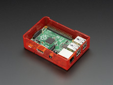 Pi Model B+ Case Base - Red