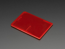 Raspberry Pi Model B+ Case Lid - Red