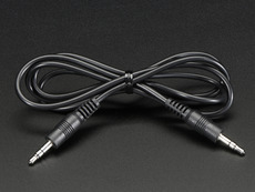 3.5mm Male/Male Stereo Cable - 1m