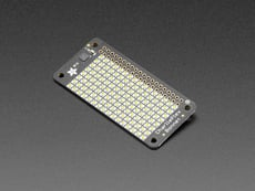 Adafruit CharliePlex LED Matrix Bonnet - 8x16 Warm White LEDs