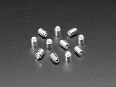 SMT / Solderable Standoff Nuts - M3 x 6mm - 10 pack