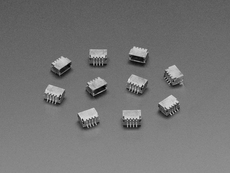 JST SH 4-pin Right Angle Connector (10-pack) - Qwiic Compatible