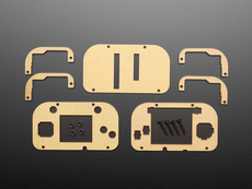 Adafruit PyGamer Acrylic Enclosure Kit