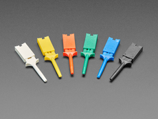 Basic Multi-Color Micro SMT Test Hooks (6-pack)