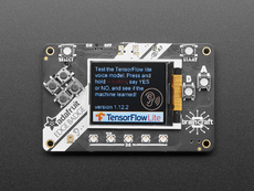 Adafruit EdgeBadge - TensorFlow Lite for Microcontrollers