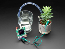 Adafruit Bonsai Buckaroo - micro:bit & CLUE Plant Care Helper