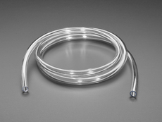 Tubing for Submersible Pumps - PVC 8mm ID - 1 Meter Long