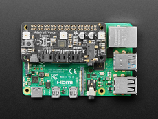 Adafruit Voice Bonnet for Raspberry Pi -Two Speakers + Two Mics