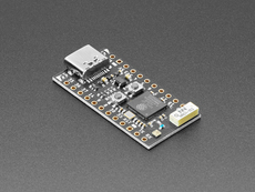 Angled shot of TinyS2 dev board.