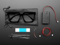 LED Glasses Accessories Kit