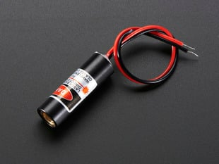Cross Laser Diode - 5mW 650nm Red