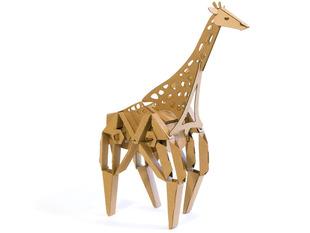 Geno the Giraffe  cardboard robot