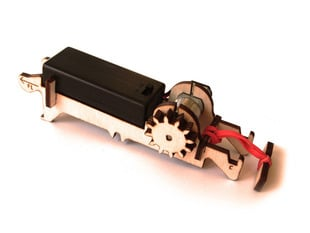 Motor Kit for Kinetic Creatures cardboard robots