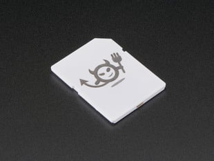 Electric Imp - SD card with devil icon