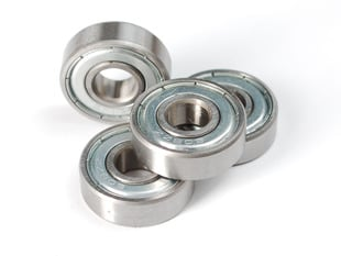 Radial Ball Bearing 608ZZ - Set of 4