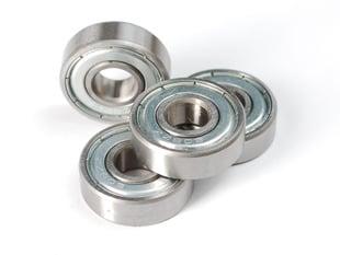 Four radial ball bearing