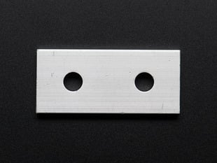 Coupling Plate with 2 Holes for  Aluminum Extrusion