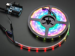 Adafruit NeoPixel Digital RGB LED Strip - White 30 LED