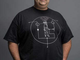 Transistor Man Shirt - Mens 4X-Large