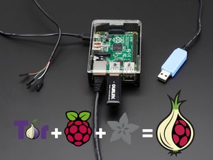 Onion Pi Pack w/ WiFi Module - Make a Raspberry Pi B+ Tor Proxy