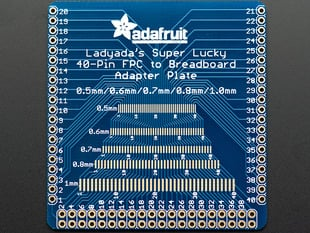 Adafruit Multi-pitch FPC Adapter - 40 Pin 0.5/0.6/0.7/0.8/1.0mm