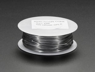 "Mini Solder spool - 60/40 lead rosin-core solder 0.031"" diameter - 100g"