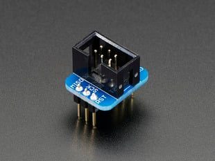 Adafruit 6-pin AVR ISP Breadboard Adapter Mini Kit