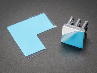 Cut out square of 3M 8810 Heat Sink Thermal Tape
