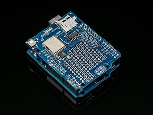 Adafruit HUZZAH CC3000 WiFi Shield with Onboard Antenna