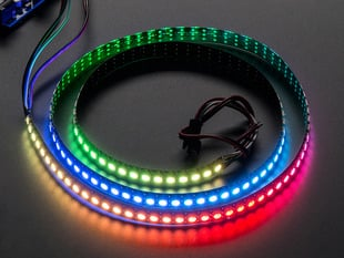 Adafruit NeoPixel Digital RGB LED Strip 144 LED - 1m Black