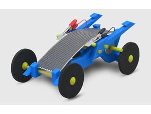 Volta Racers Solar Motorcar Kit - Blue