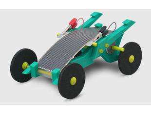 Volta Racers Solar Motorcar Kit - Green