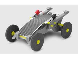 Volta Racers Solar Motorcar Kit - Gray