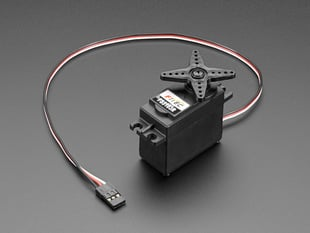 Continuous Rotation Servo with three pin cable