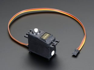 Standard hobby servo with three pin cable