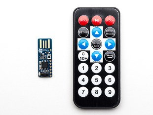 Adafruit IRKey with Remote - IR Remote to Keyboard