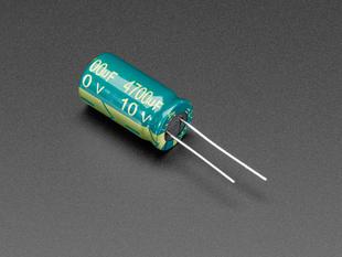 4700uF 10v through hole  Electrolytic Capacitor