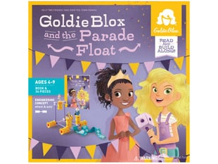 Goldie Blox and the Parade Float outer packaging
