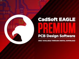 CadSoft EAGLE Premium - PCB Design Software - 1 User