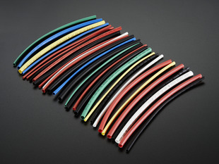 Multi-Colored Heat Shrink Pack - 3/32